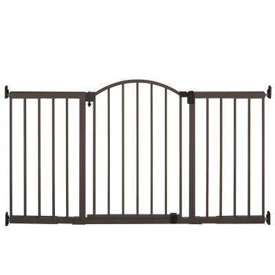 Stylish and Secure 36 in. Extra Tall Metal Expansion Gate