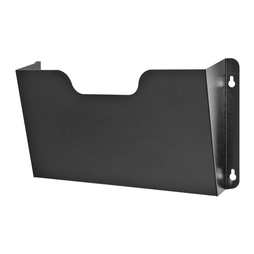 metal wall file holder. Buddy Products Dr. Pocket Letter Size Wall File Metal Holder M