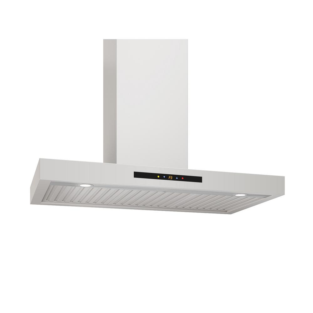 WRC436 36 in. Wall-mounted Convertible Range Hood in Stainless Steel