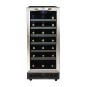 Click here to buy Danby Silhouette 34-Bottle Built-In Wine Cooler by Danby.