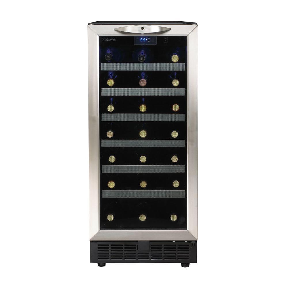 Silhouette 34-Bottle Built-In Wine Cooler