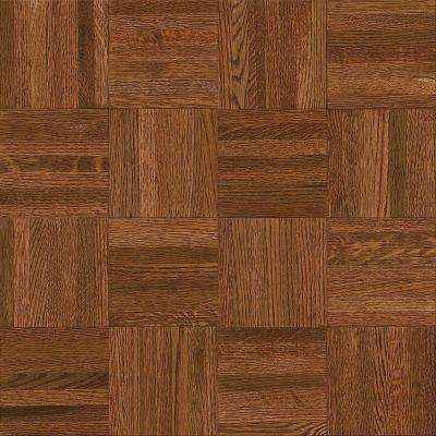 Attirant Natural Oak Parquet Cherry 5/16 In. Thick X 12 In. Wide X