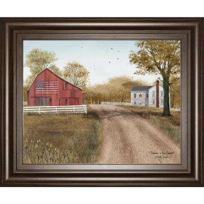 "22 in. x 26 in. ""Summer in the Country"" by Billy Jacobs Framed Printed Wall Art"