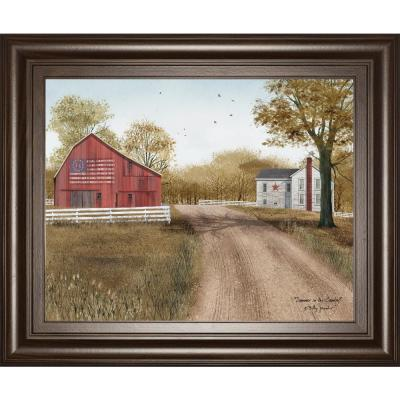 """22 in. x 26 in. """"Summer in the Country"""" by Billy Jacobs Framed Printed Wall Art"""