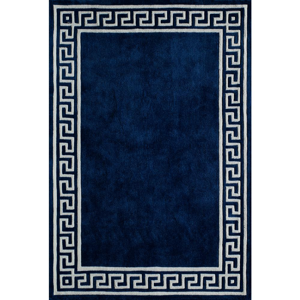 Bliss Navy 5 ft. x 7 ft. 6 in. Indoor Area