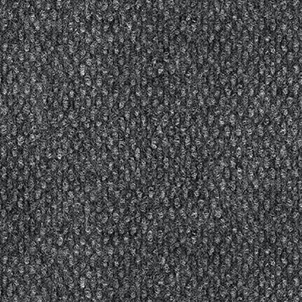 Design Smart Smoke Hobnail Texture 18 in. x 18 in. Indoor/Outdoor Carpet Tile (10 Tiles/22.5 sq. ft. / case)