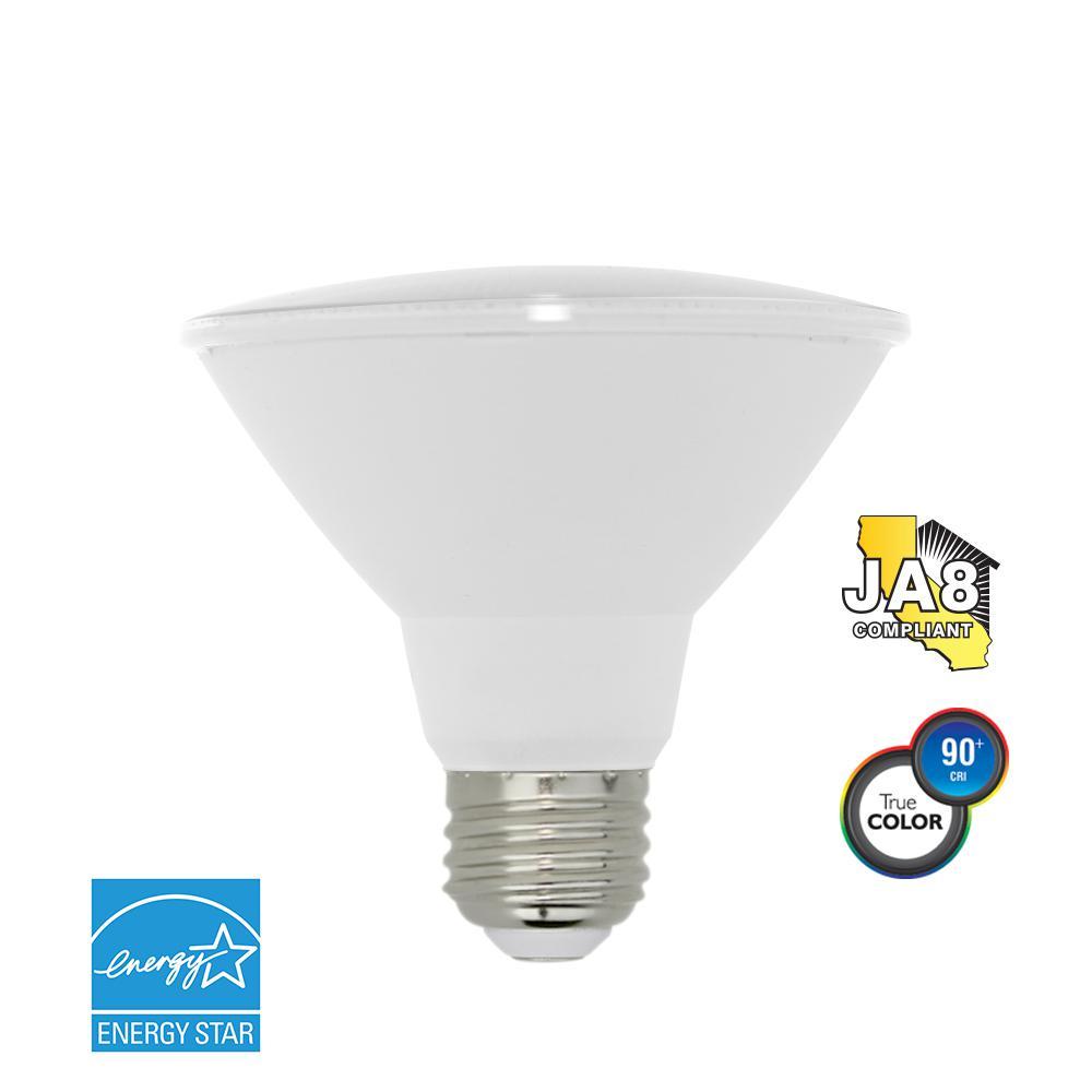 75W Equivalent Soft White PAR30 Short Neck Dimmable LED Light Bulb