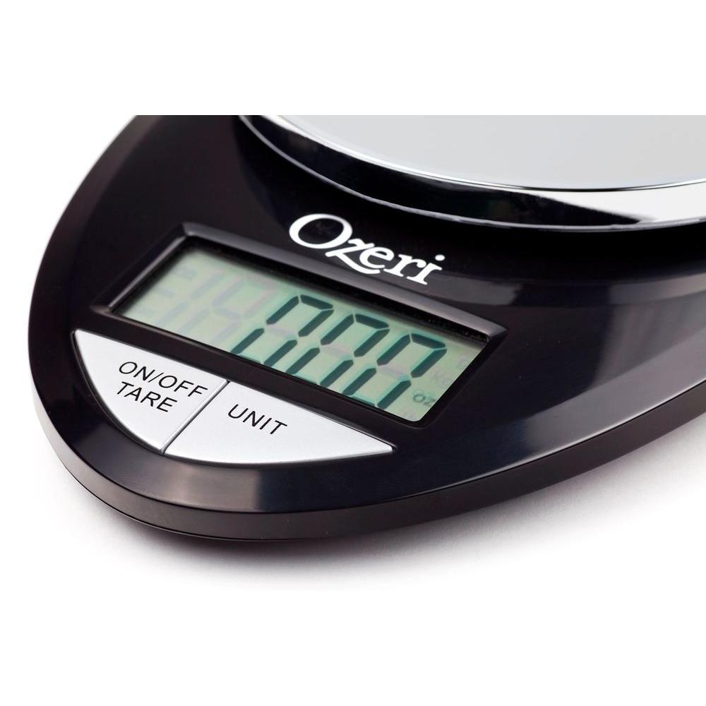 Ozeri Pro Digital Kitchen Food Scale, 1 g to 12 lbs ...