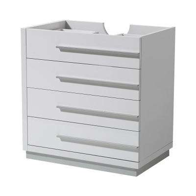 Livello 30 in. Bathroom Vanity Cabinet Only in White