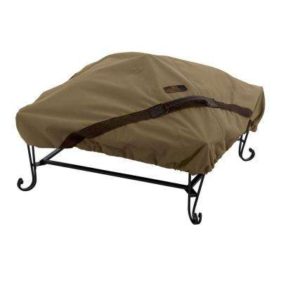 Hickory 40 in. Square Fire Pit Cover