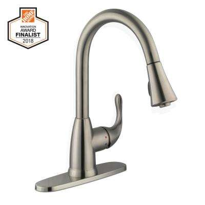 1 or 3 hole kitchen faucets kitchen the home depot rh homedepot com Kitchen Faucets 3 Hole Options 3 hole compatible kitchen faucets