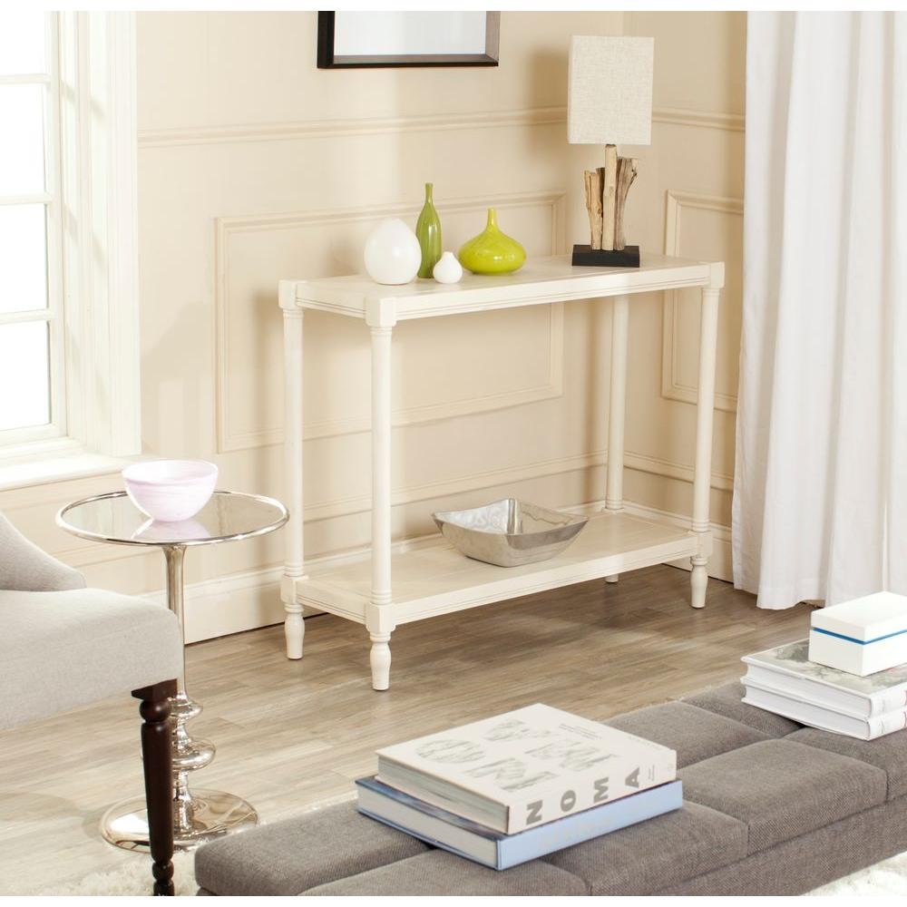Bela White Console Table