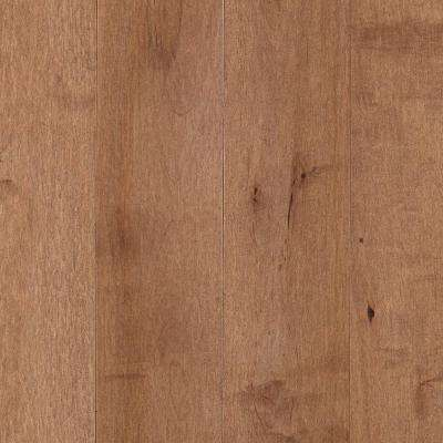 Portland Crema Maple 3/4 in. Thick x 5 in. Wide x Random Length Solid Hardwood Flooring (19 sq. ft. / case)