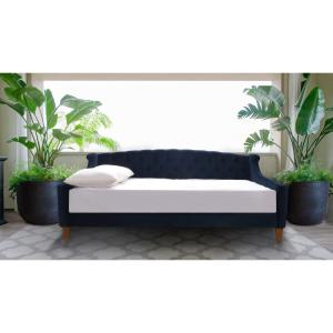 Pleasant Jennifer Taylor Lucy Dark Navy Blue Sofa Bed 65000 872 The Ncnpc Chair Design For Home Ncnpcorg