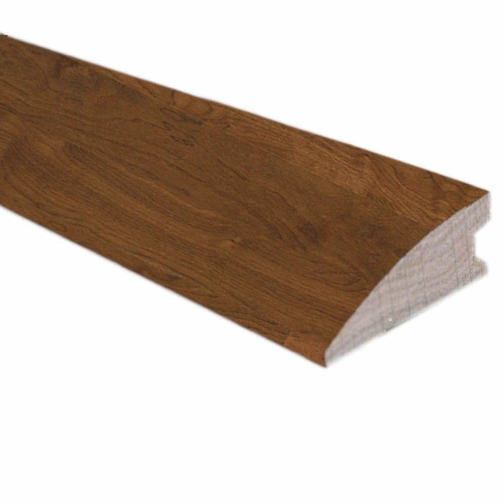 null Walnut Natural Glaze 3/4 in. Thick x 1-3/4 in. Wide x 78 in. Length Flush-Mount Reducer Molding