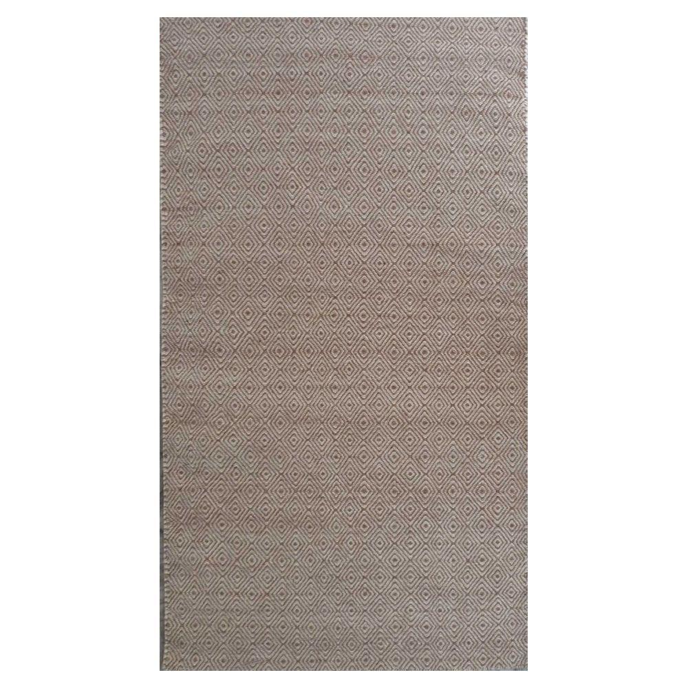 Kas Rugs Playa Dhurrie Dark Sand 5 ft. x 7 ft. Area Rug