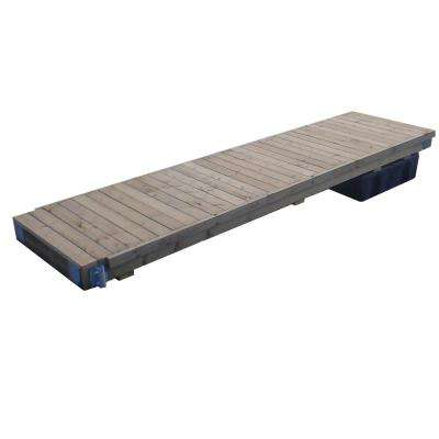 Semi-Floating Wood Dock Kit 4 ft. x 16 ft. or 6 ft. x 12 ft.