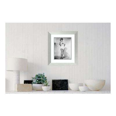 19.38 in. W x 22.38 in. H Betty Grable 1944 WWll Pinup Girl by Hollywood Historic Photos Printed Framed Wall Art
