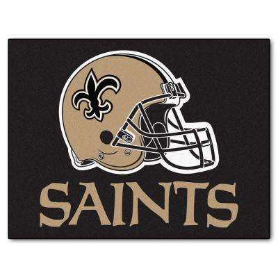 New Orleans Saints 3 ft. x 4 ft. All-Star Rug