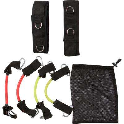 30 lbs. and 40 lbs. Lateral Leg Resistance Training Bands with Carry Bag