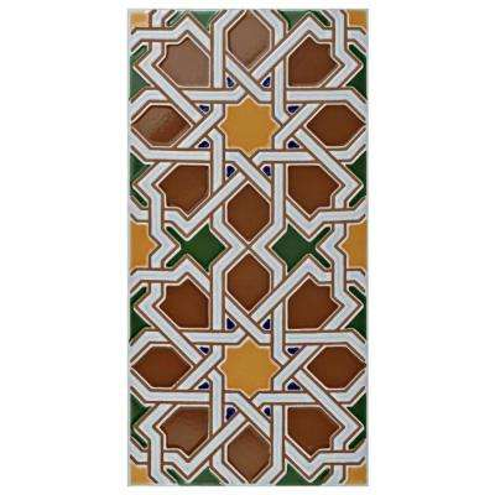 Artesanal Mairena Brown 5-1/2 in. x 11 in. Ceramic Wall Tile (11.23 sq. ft. / case)