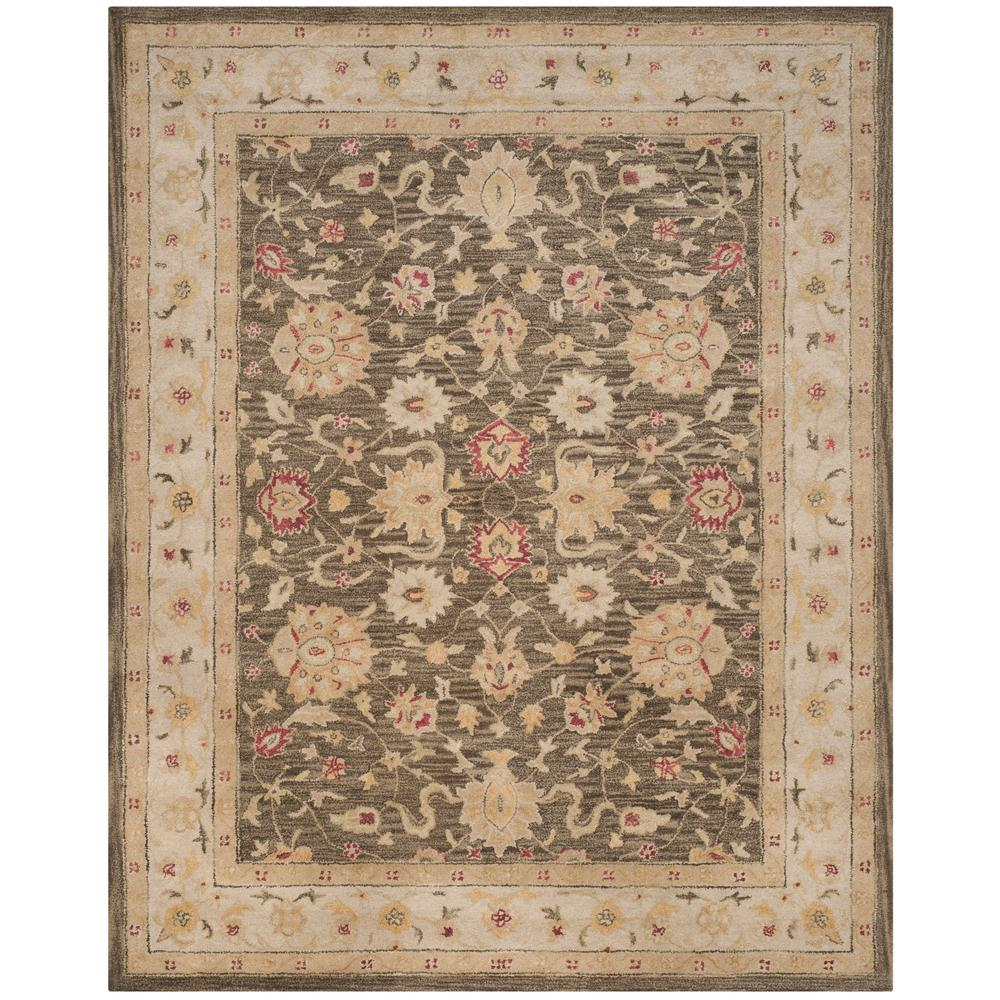 Antiquity Olive Gray/Beige 9 ft. 6 in. x 13 ft. 6