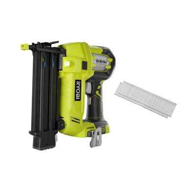 18-Volt ONE+ Cordless AirStrike 18-Gauge Brad Nailer (Tool-Only) with Sample Nails