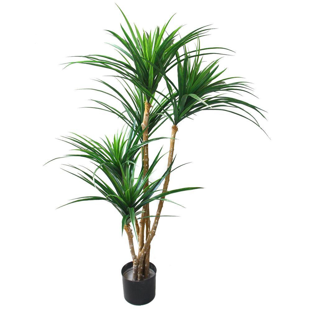 51 in. Tropical Yucana Artificial Tree