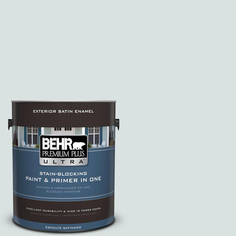 BEHR Premium Plus Ultra 1-gal. #N440-1 Streetwise Satin Enamel Exterior Paint