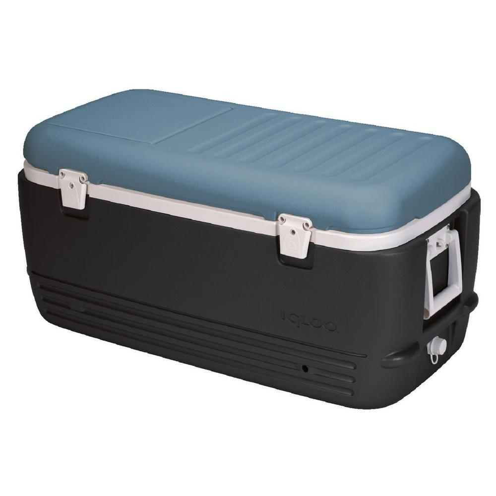 Igloo Maxcold 100 Qt. Cooler with Retractable Handles and...