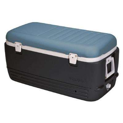Maxcold 100 Qt. Cooler with Retractable Handles and Split-Lid
