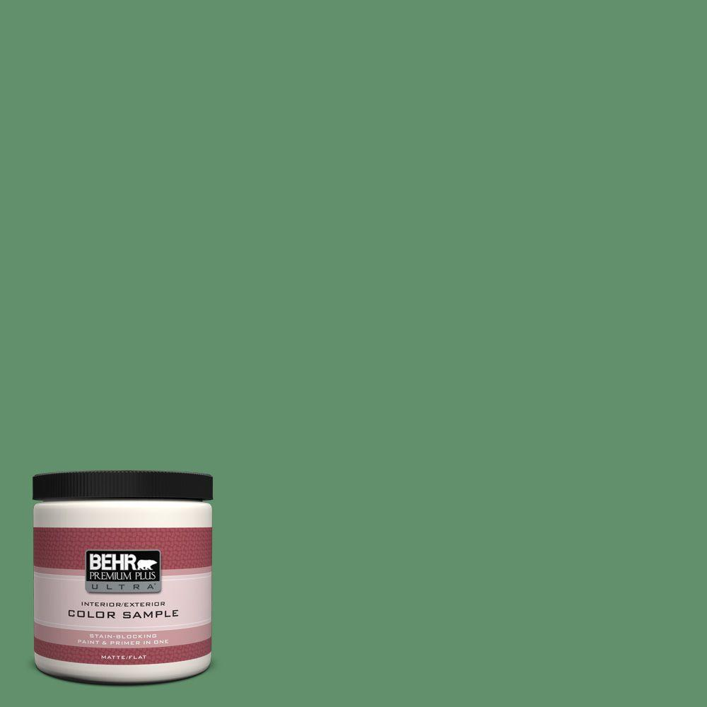 8 oz. #460D-6 Manchester Matte Interior/Exterior Paint and Primer in One