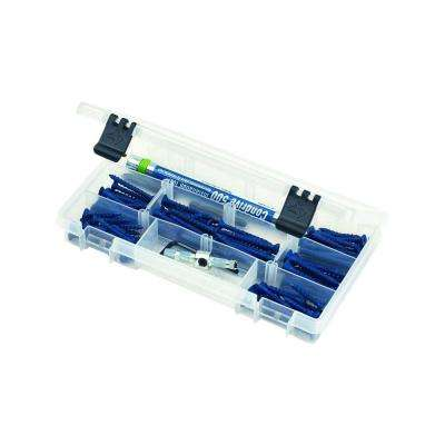 9 in. 10-Compartment Parts Bin Small Parts Organizer (3-Pack)