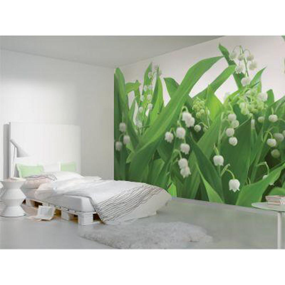 National Geographic 100 in. x 145 in. Lillies of the Valley Mural