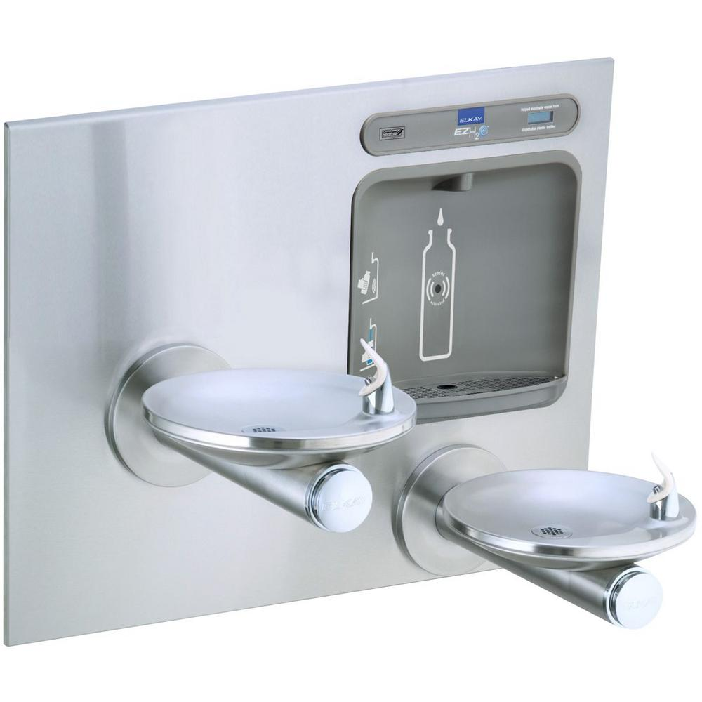 Non-Filtered Non-Refrigerated EZH2O Integral SwirlFlo Stainless Steel Drinking