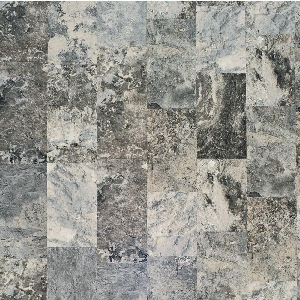 Pergo Presto Lago Slate Laminate Flooring - 5 in. x 7 in. Take Home Sample