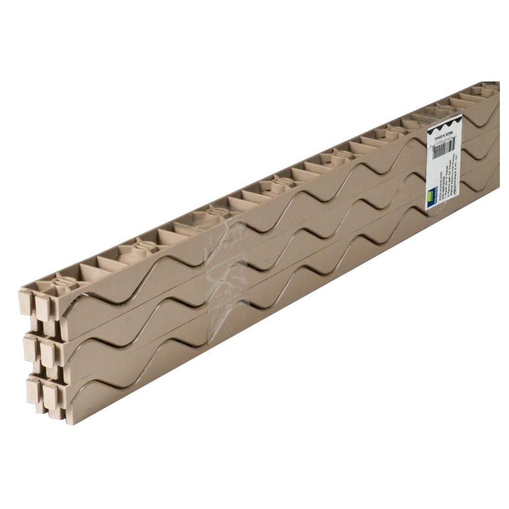 Suntuf 24 in  Horizontal Plastic Closure Strips (6-Pack)-92770 - The