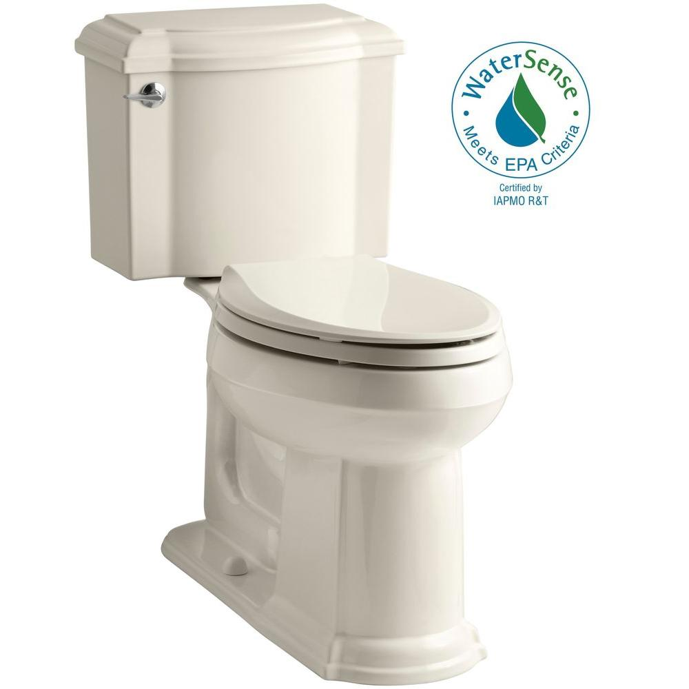 Devonshire 2-piece 1.28 GPF Elongated Toilet with AquaPiston Flush Technology in