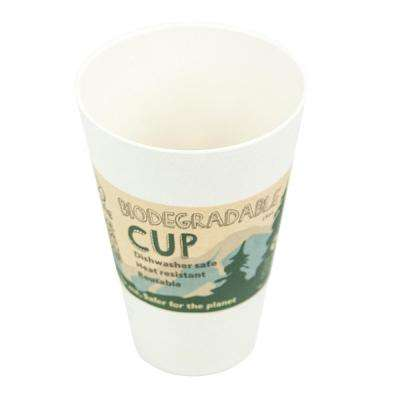 15 oz. Sand Bamboo Cup (6-Pack)
