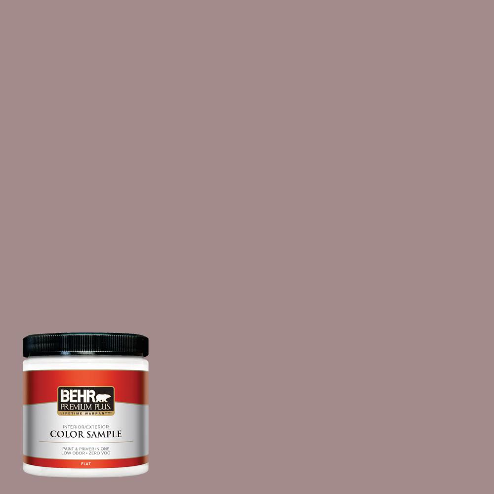 8 oz. #PPU17-15 Cameo Rose Flat Interior/Exterior Paint Sample