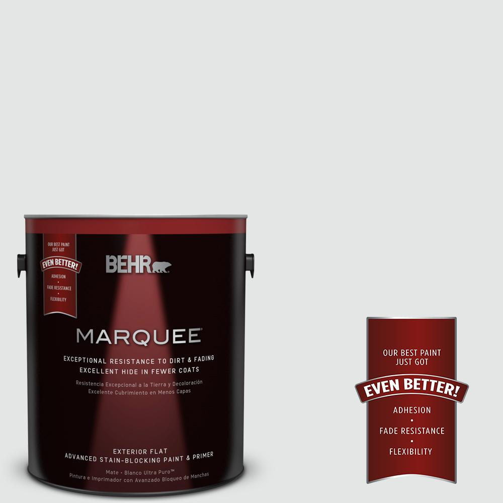 Behr Exterior Paint Home Depot behr premium plus 1 gal. ultra pure white flat exterior paint