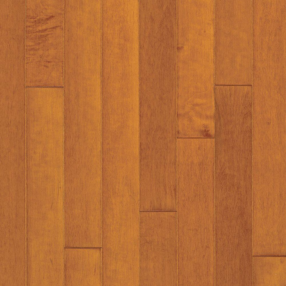 Bruce Cinnamon Maple 3/8 In. Thick X 5 In. Wide X Random Length Engineered  Hardwood Flooring (22 Sq. Ft./case) EMA96LG   The Home Depot