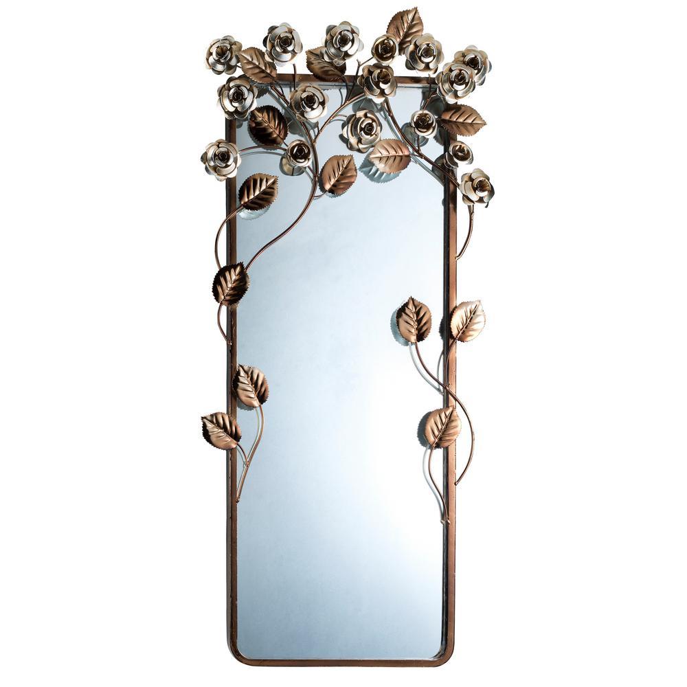 Allure Wall Brown Decorative Mirror