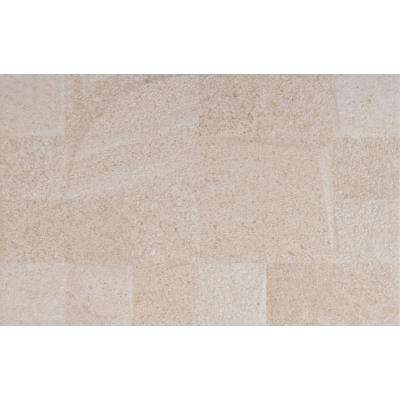 Textura Crema 10 in. x 16 in. Glazed Ceramic Wall Tile (12.21 sq. ft. / case)