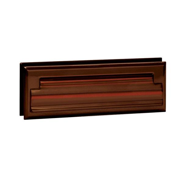 4000 Series 8.75 in. W x 2.75 in. H x 1.75 in. D Standard Letter Size Mail Slot in Antique