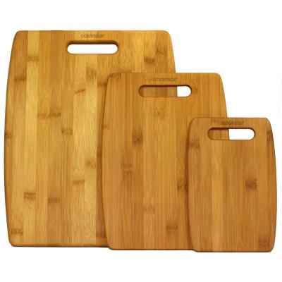 3-Piece Bamboo Cutting Board Set