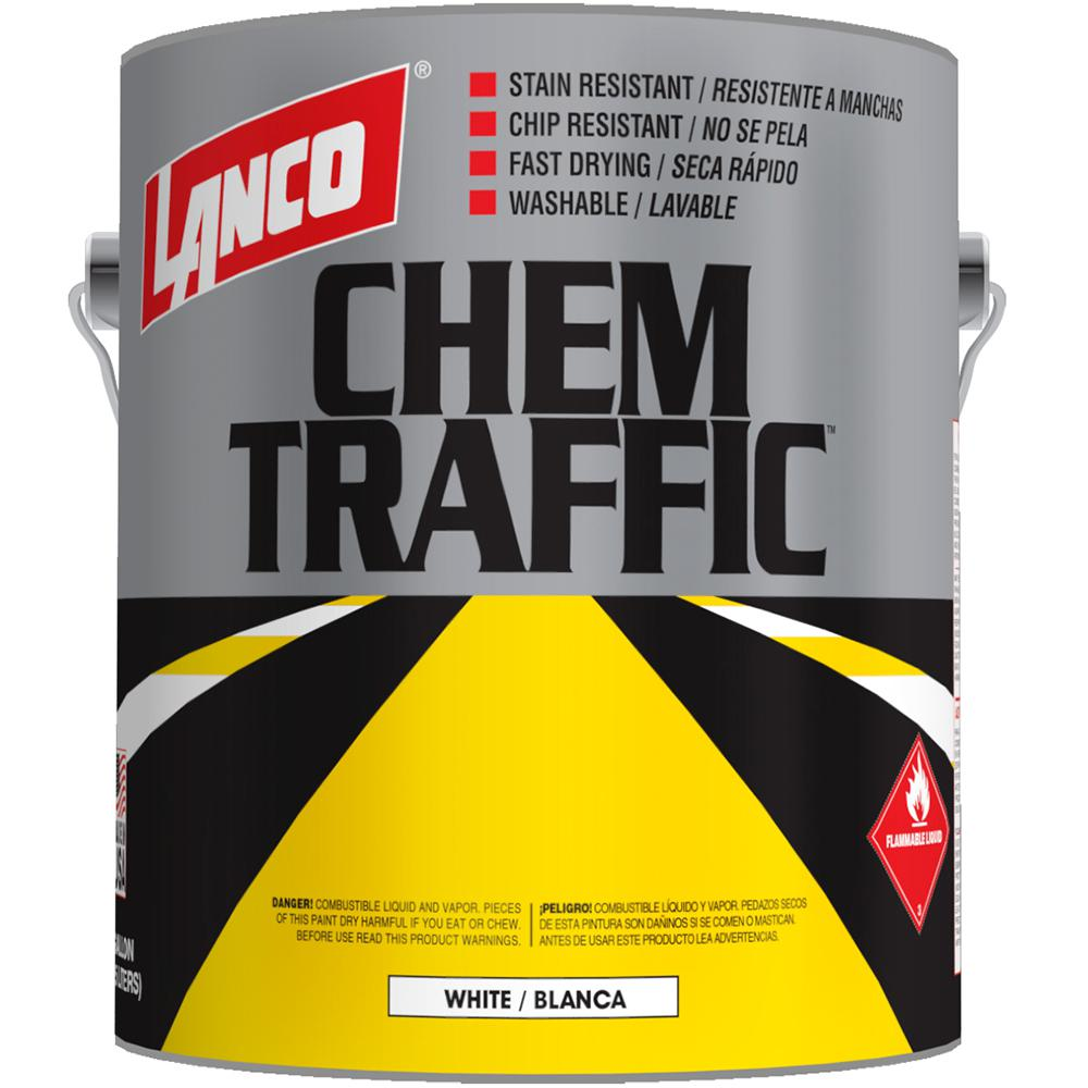 Chem Traffic 1 gal. Flat White Marking Paint