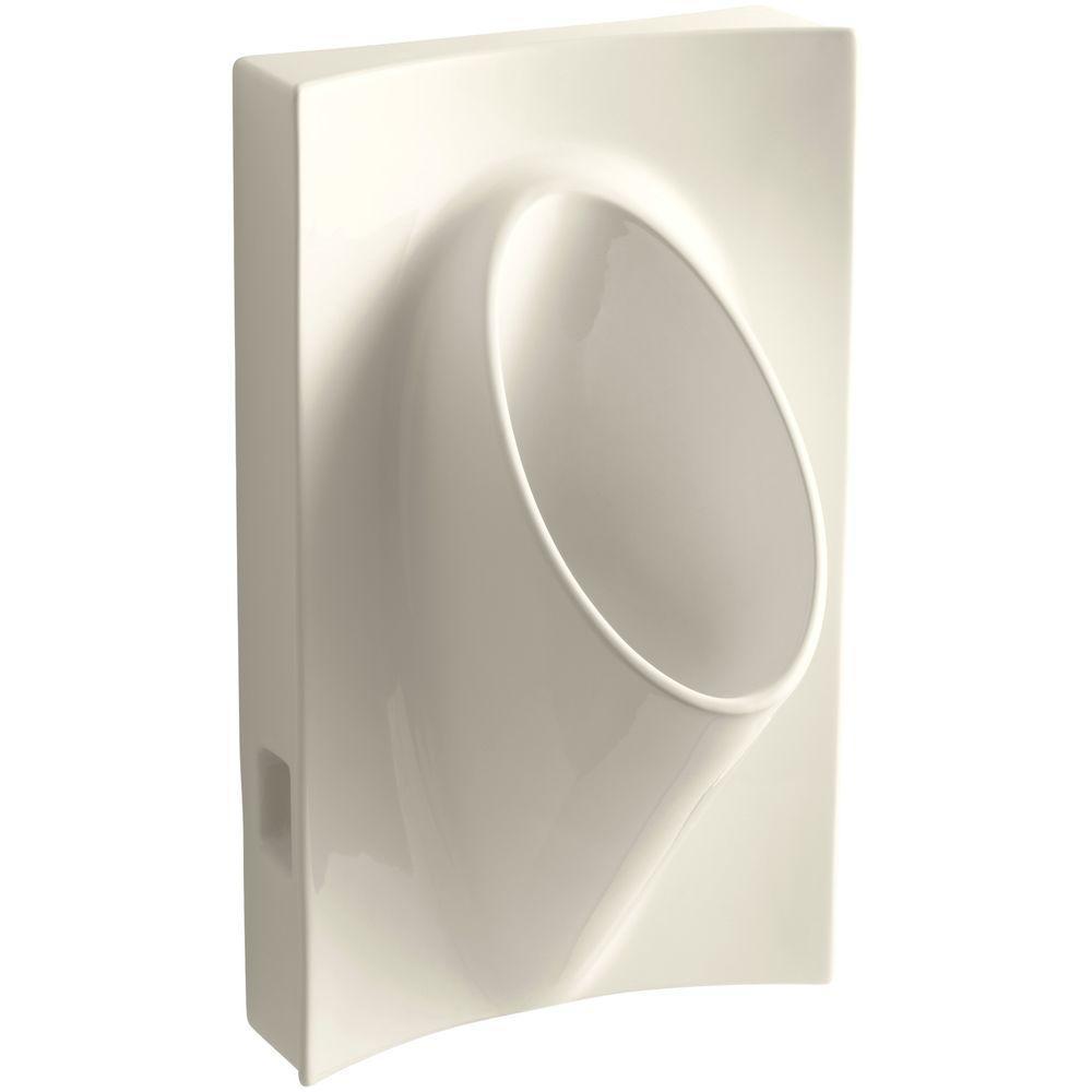 Steward Waterless Urinal in Almond