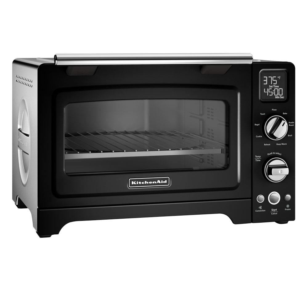 Black Kitchenaid Toaster: KitchenAid Onyx Black Convection Toaster Oven-KCO275OB