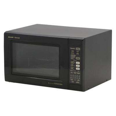 1.5 cu. ft. 900W Convection Microwave in Black